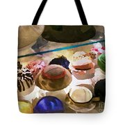 Hats In A Row Tote Bag