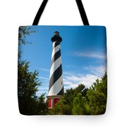 Hatteras Lighthouse Standing Guard Tote Bag