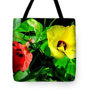 Hau Tree Blossoms Tote Bag