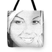 Hauna In Her Own Words Tote Bag
