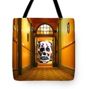 Haunted Hallway Tote Bag