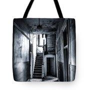 Haunted Hallway Tote Bag