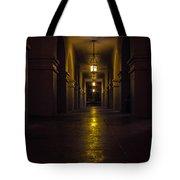 Haunted Hallways Tote Bag