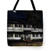 Haunted Hotel Tote Bag