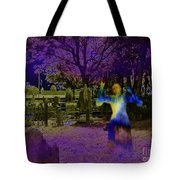 Haunted Night Tote Bag
