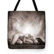 Haunted Tote Bag by Jacky Gerritsen
