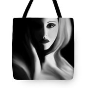 Haunted - Self Portrait Tote Bag