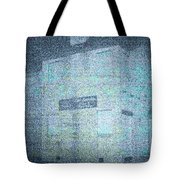 Haunting House Tote Bag