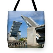 Hauover Canal In Florida Tote Bag