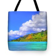 Hauru Point Moorea Tote Bag