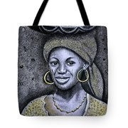 Hausa Maiden  Tote Bag