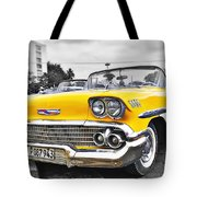 Havana Chevy Dreams  Tote Bag