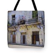 Havana City Apartments  Tote Bag