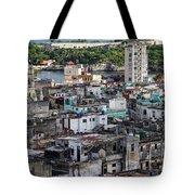 Havana Cityscape Tote Bag