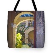 Havana Courtyard Tote Bag