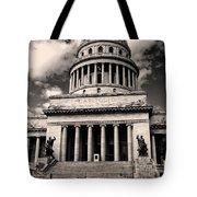 Havana El Capitolio Tote Bag