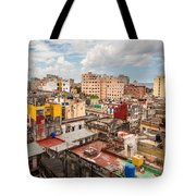 Havana From Above Tote Bag