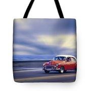 Havana Malecon Tote Bag