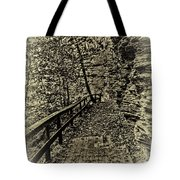 Havana Pathway In Sepia Tote Bag by William Norton