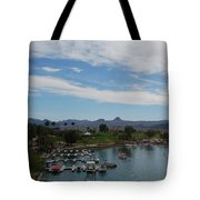 Havasu City Az Waterfront Tote Bag