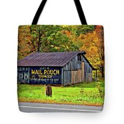 Have A Chaw Painted Tote Bag