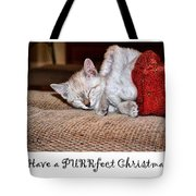 Have A Purrfect Christmas Tote Bag