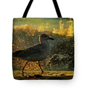 Have A Walk By Th Sea Tote Bag
