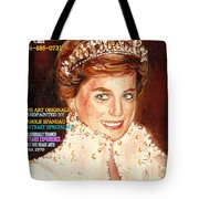 Have Your Portrait Painted Contact Carole Spandau 30 Years Experience Tote Bag