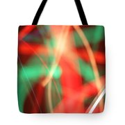 Have Yourself An Abstract Little Christmas Tote Bag