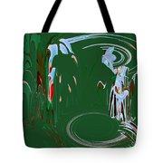 Having Green Tea Tote Bag