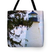 Havre De Grace Lighthouse Tote Bag