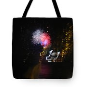 Hawaii Fireworks Tote Bag