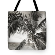 Hawaii Ocean Palm Tote Bag