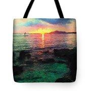 Hawaii Paddler Tote Bag