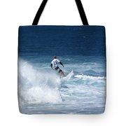 Hawaii Pipeline Surfer Tote Bag