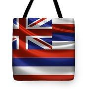 Hawaii State Flag Tote Bag
