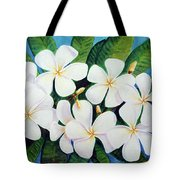 Hawaii Tropical Plumeria Flower  # 220 Tote Bag
