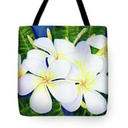 Hawaii Tropical Plumeria Flower  #208 Tote Bag