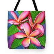 Hawaii Tropical Plumeria Flower #243 Tote Bag