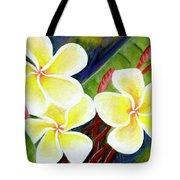 Hawaii Tropical Plumeria Flower #298, Tote Bag