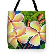 Hawaii Tropical Plumeria  Flower #314 Tote Bag