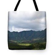 Hawaii Valleys Tote Bag