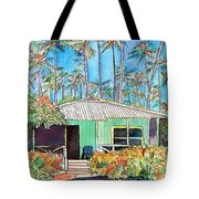 Hawaiian Cottage I Tote Bag