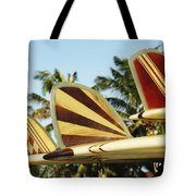 Hawaiian Design Surfboards Tote Bag by Vince Cavataio - Printscapes