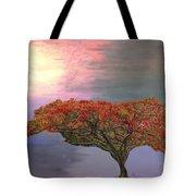 Hawaiian Flame Tree Tote Bag