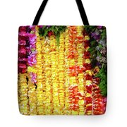 Hawaiian Flower Lei's Tote Bag
