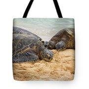 Hawaiian Green Sea Turtles 1 - Oahu Hawaii Tote Bag