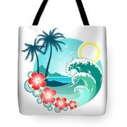 Hawaiian Island 2 Tote Bag