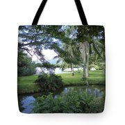 Hawaiian Lagoon Tote Bag