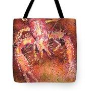 Hawaiian Lobster Tote Bag